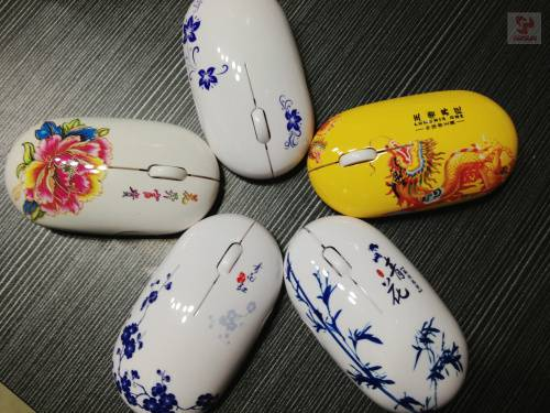 Chinese Classical Popular Slim Wireless Mouse