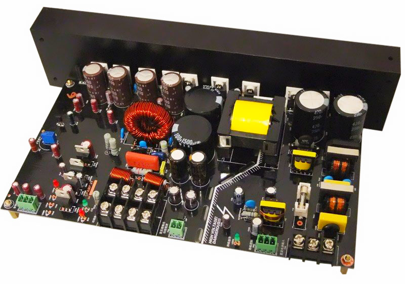 100V PA System Pro Amp Module Integrated SMPS No Output Transformer / Remote Line Control +Monitor