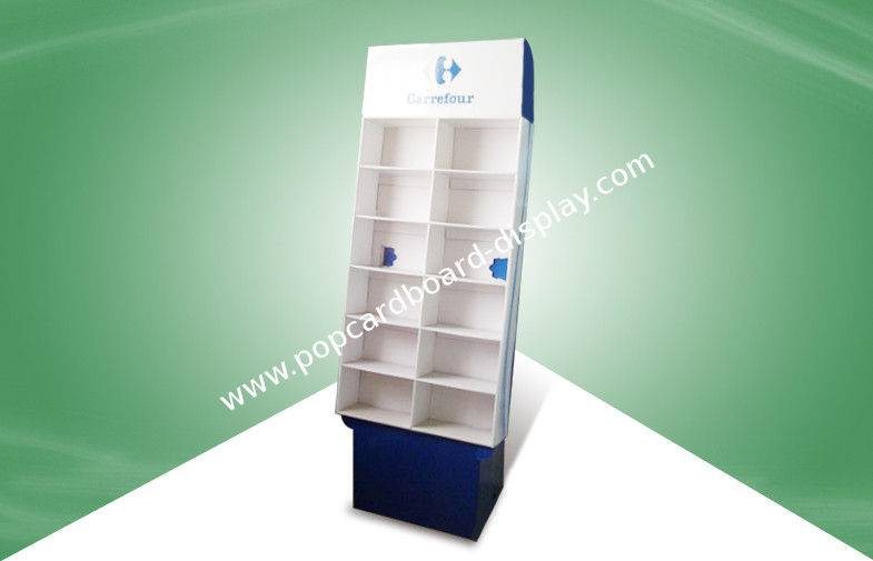 Pop Cardboard Display stands/Floor Display for supermarket, issuitable for book and magazine