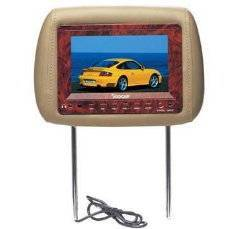 7 Headrest Pillow LCD Monitor TV