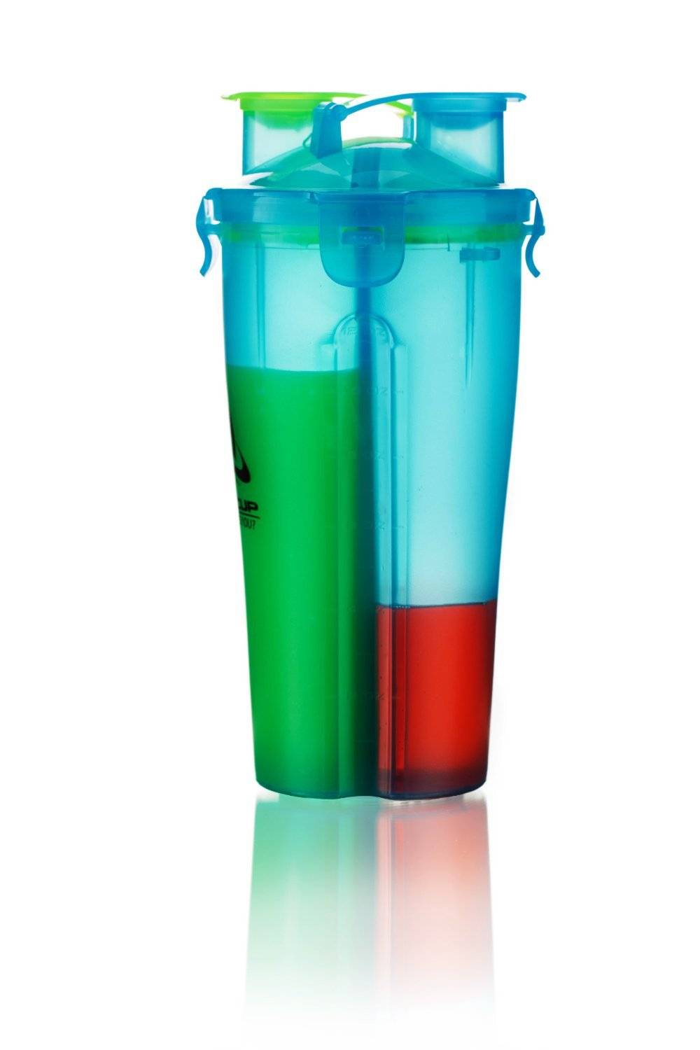 2014 new shaker bottle hydra cup Dual Shaker Cup