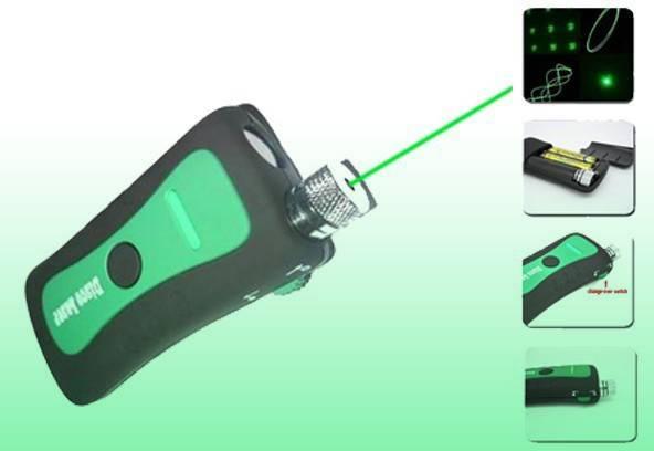 Laser stage lighting