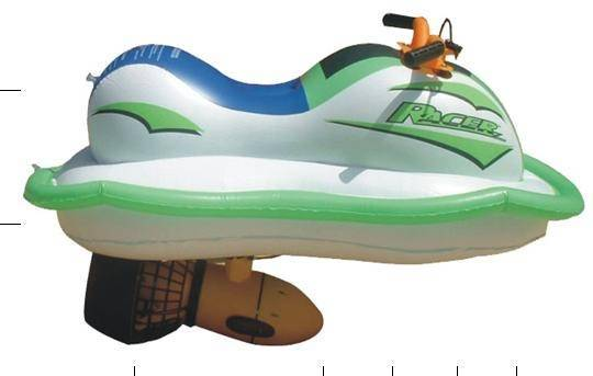 Inflatable Aquatic Motorboat
