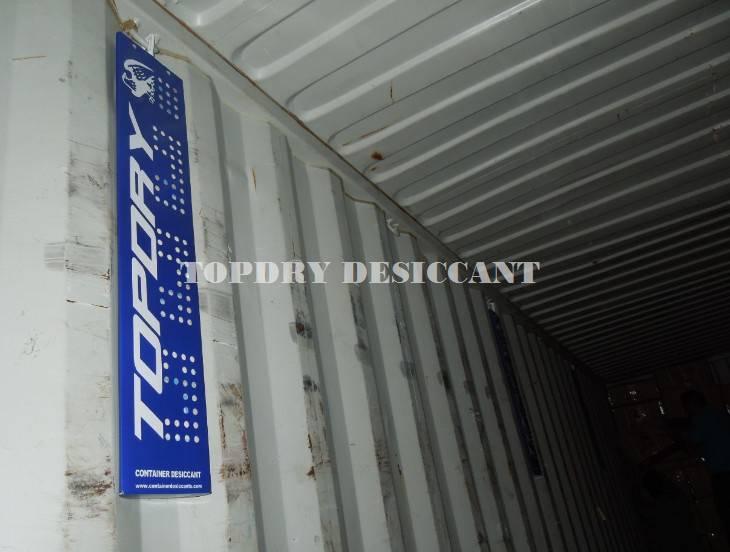 Calcium Chloride Container Desiccant for Transportation