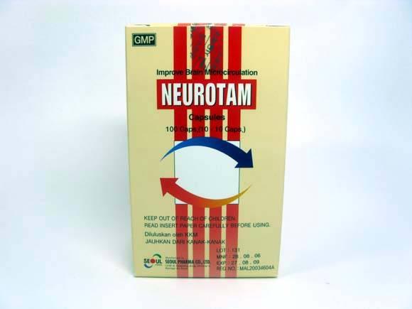 Medicine (NEUROTAM TABLET/CAPSULE)