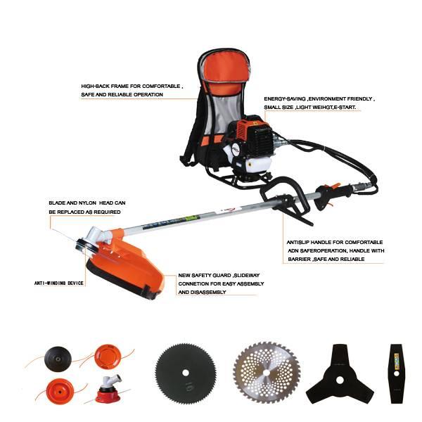 easy starter 2 stroke backpack brush cutter