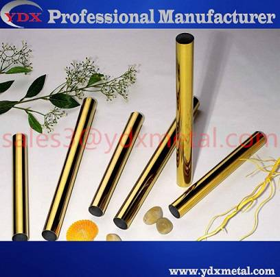 titanize stainless steel pipe /color stainless steel tube
