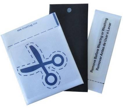 EAS AM/RF woven/non-woven clothes security label