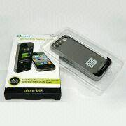 Power Case for iPhone 4/4S, Portable and Rechargeable, with 1,500mAh Capacity