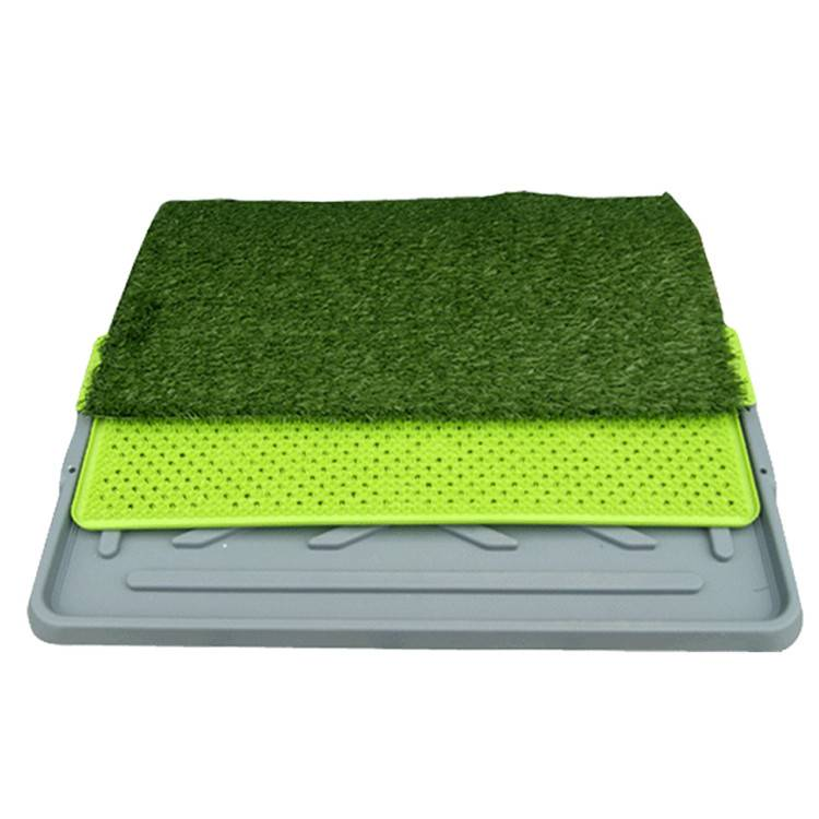 Artificial Pet Grass Mat Dog Training Toilet Drawn