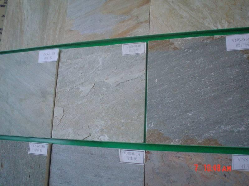 Offer slate tile, cultural stone, quartzite tiles