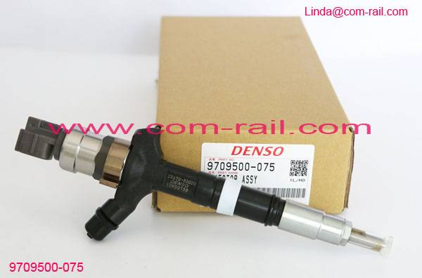 denso injector 095000-0751 for 3.0 d4d 1KD-FTV 23670-30020 23670-39025