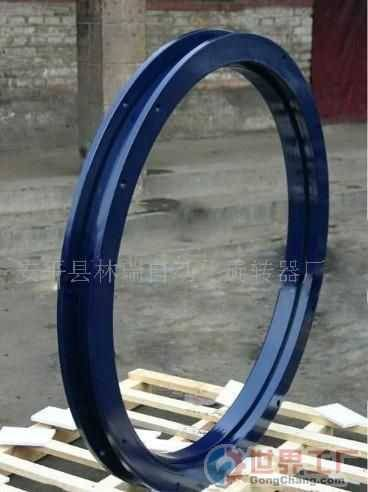 ball race bearing slewing ring automotive trailer turntable