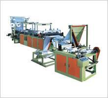 Ribbon-through Conituous-rolled Bag Making Machine Continuous roling