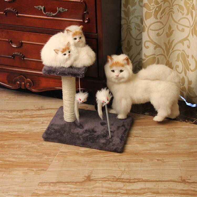cat tree/catplatform /cat toy with mouse