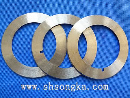 Tea paper cans, paper cutting blade, printing paper cutting circular blade, blade cutting tube