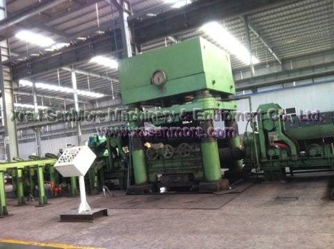 SMV2 Two Roll Titanium Bar Straightening Machine