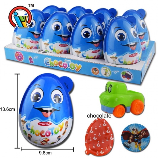 Big Surprise Egg Toy Candy with chocolate