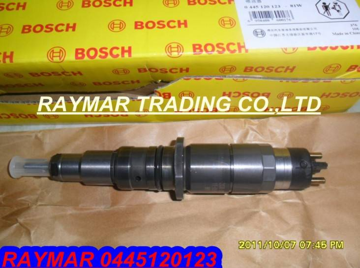 Bosch common rail injector 0445120123 for Cummins ISDE 4937065