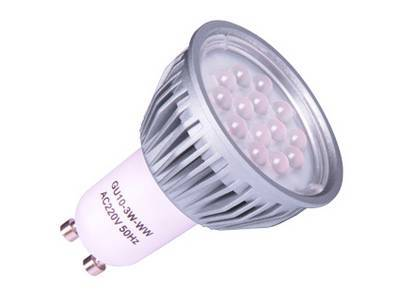 Led spot light gu10 5w