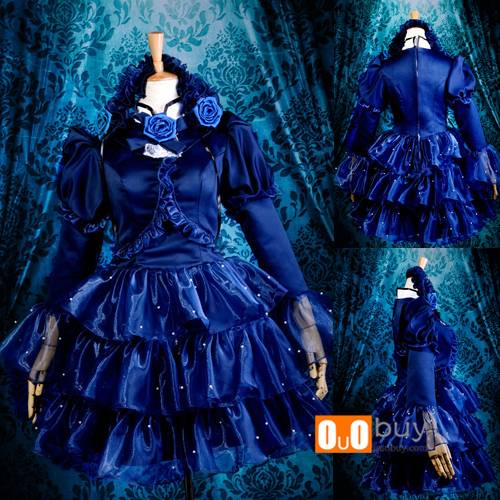 Selling Sound Horizon Discoloration Dress Cosplay Custume