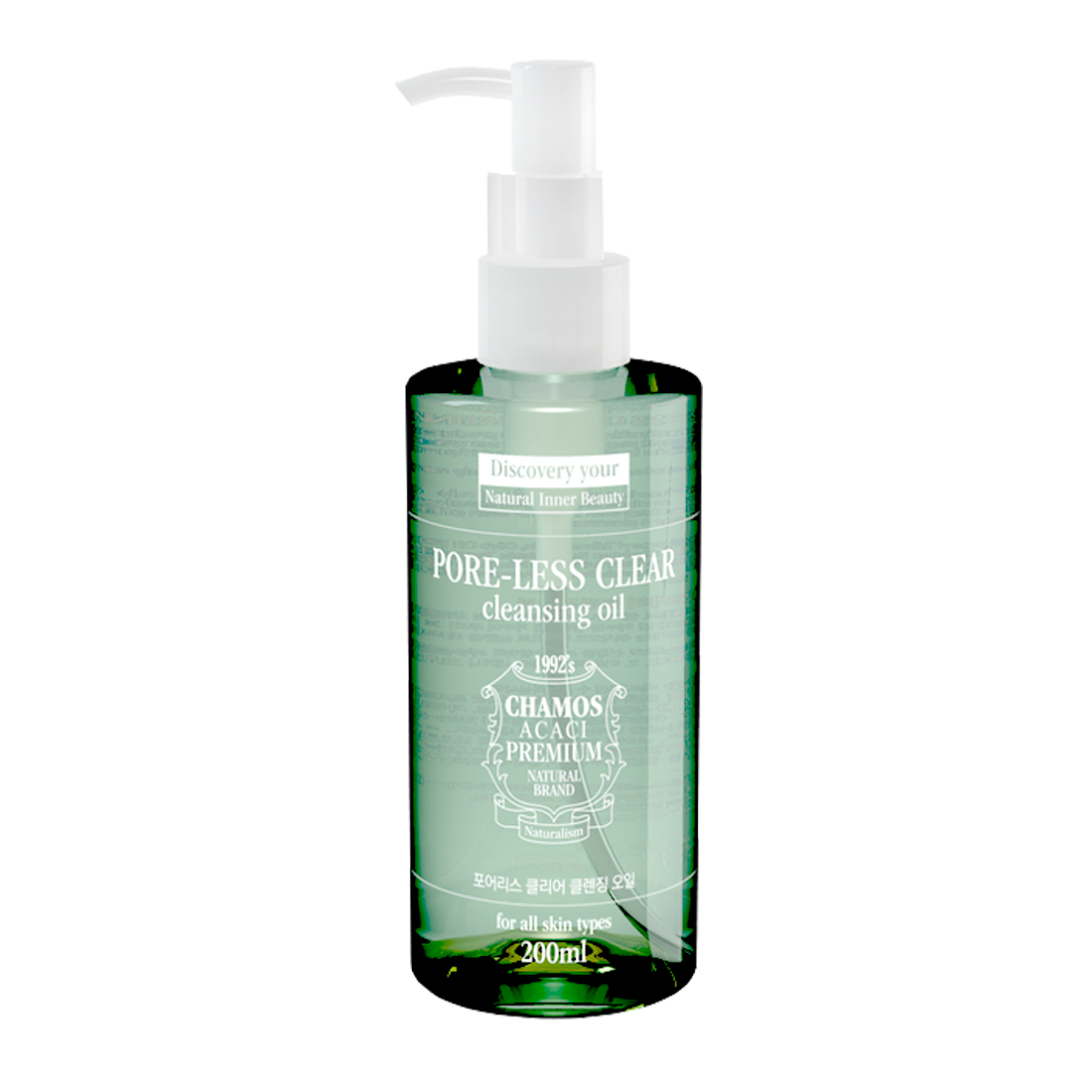 chamos ACACI Pore-Less Clear Cleansing Oil