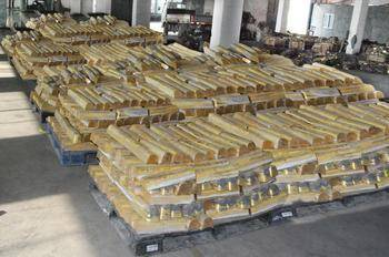 copper ingots 99.9%