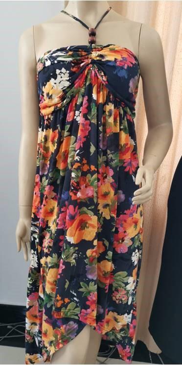 Ladies Fashion Dress Allover print