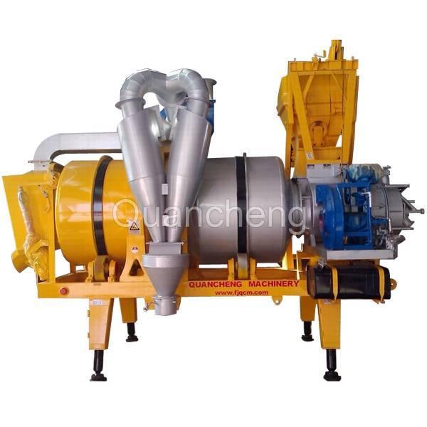 mobile asphalt mixing plant twin drum QCS-30