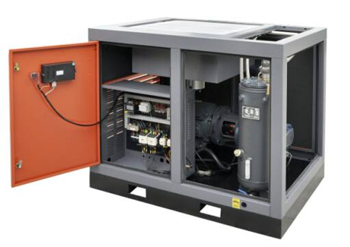supply Variable frequency screw air compressor