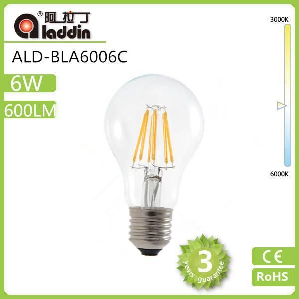 aladdin led filament bulb 4w 6w 5w epistar led bulb led filament bulb e27