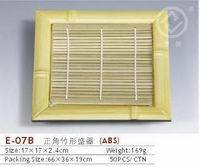 Plastic bamboo dinnerware