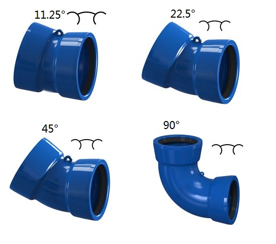 Socket Bend, Elbow, Ductile Iron, OEM Manufacture