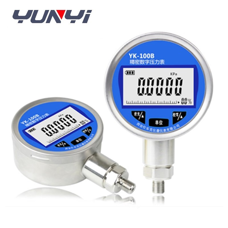 high pressure digital water mbar pressure gauge manometer