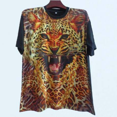 Men's sublimation print t shirt