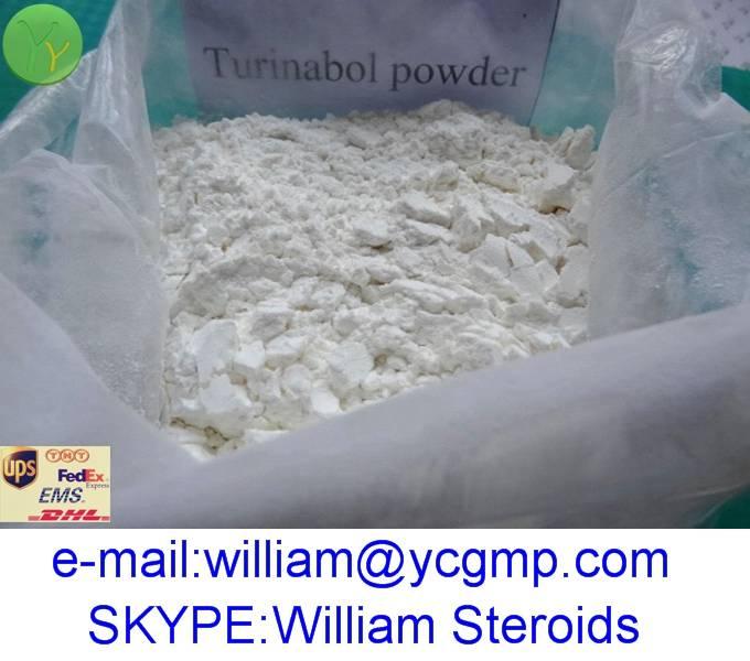 High Quality 4-Chlordehydromethyltestosterone / Turinabol Powder with Best Price