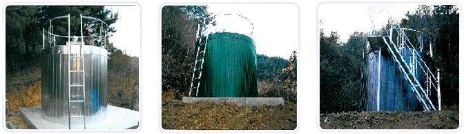 STS Cylindrical Water Tanks