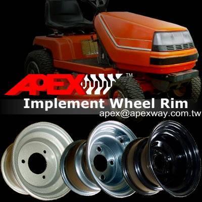 Mower Steel Wheel Rim