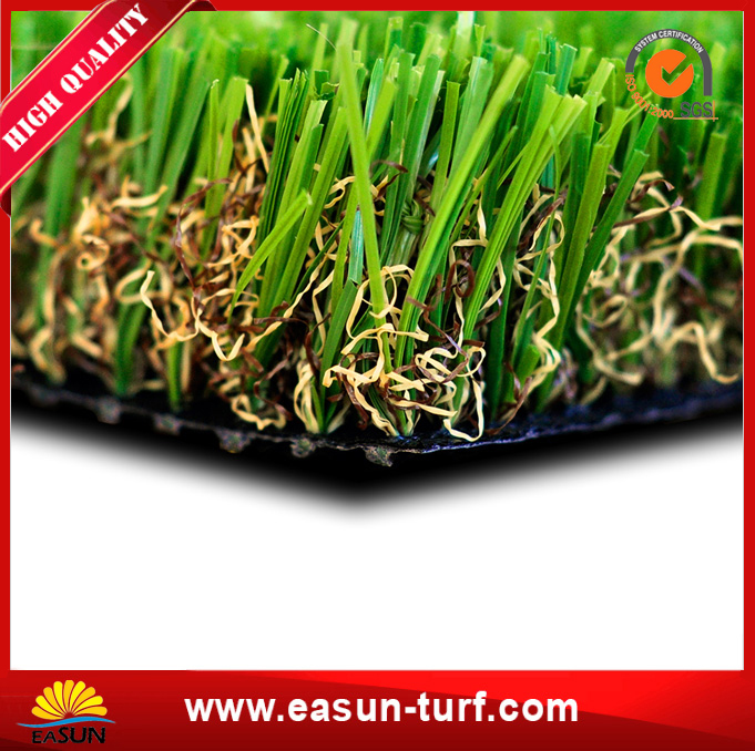 Wholesale Soft 4 colors natural artificial grass for landscaping-AL