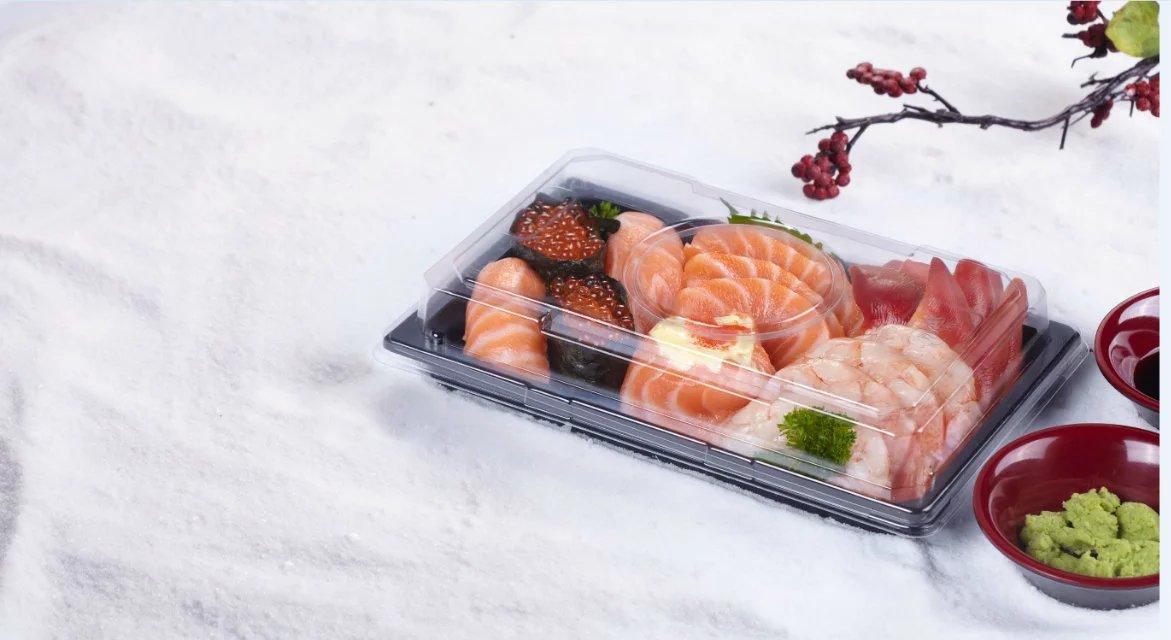Sell OPS food grade shallow sashimi tray
