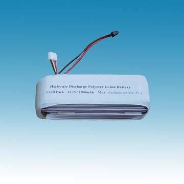 Polymer battery_high discharge rate