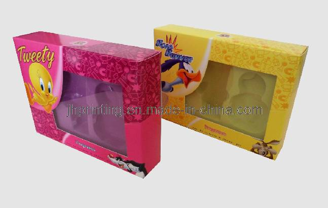 Full Color Cosmetic Set Paper Display Box