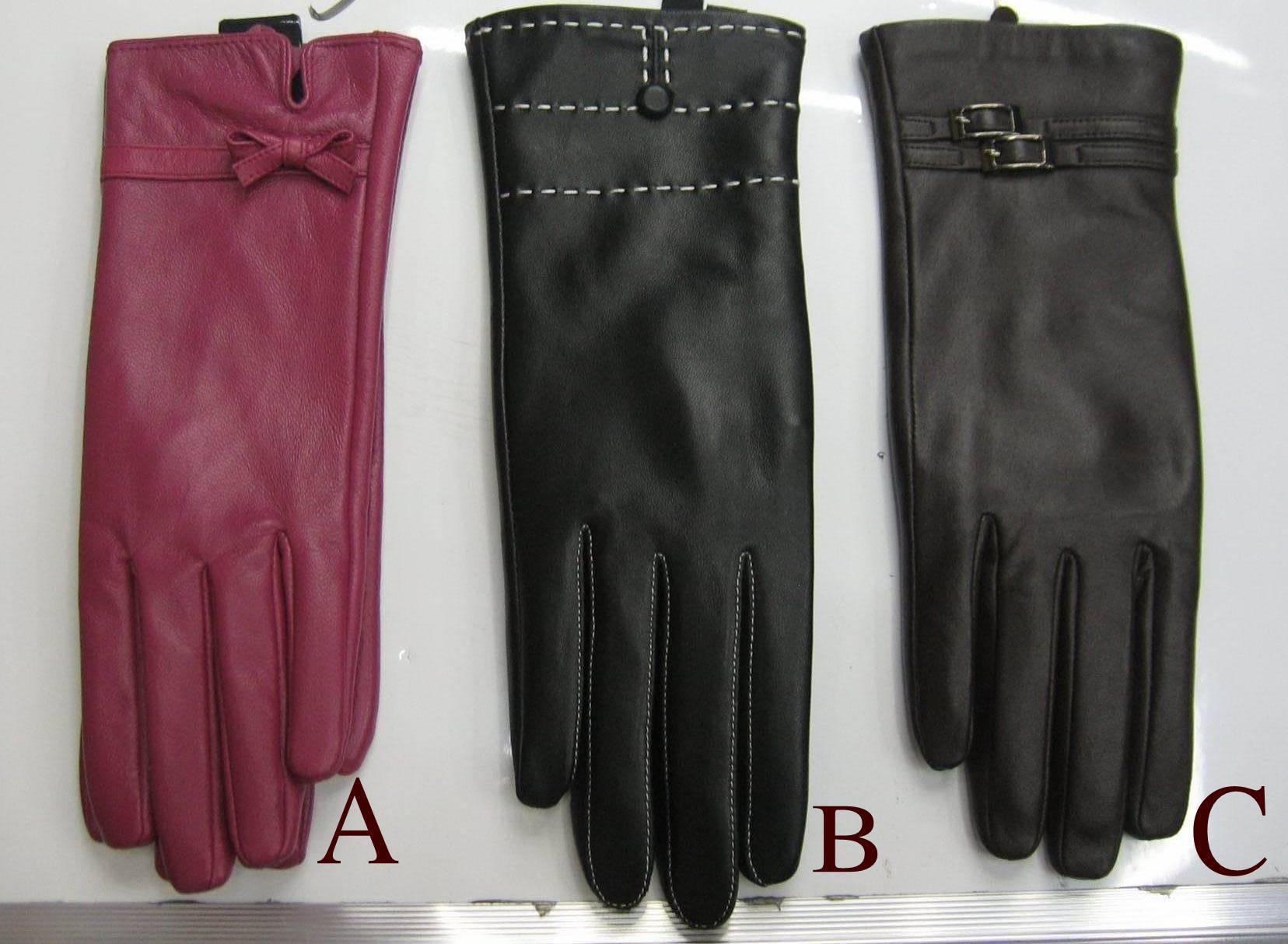 ladies leather glove