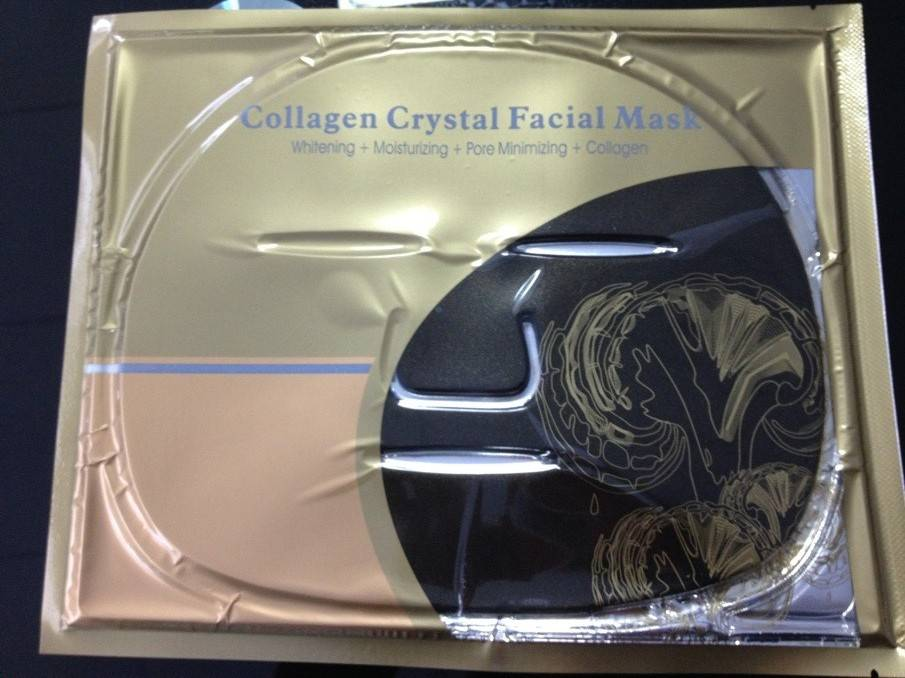Dead Sea Facial Mask With Glittering Gold