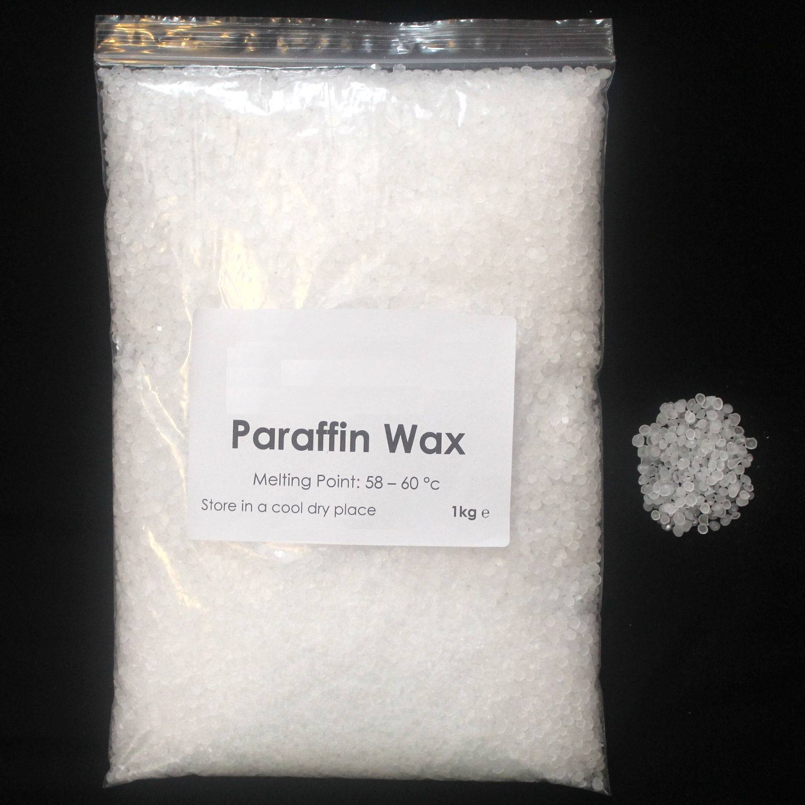 fully refined paraffin wax 58-60....