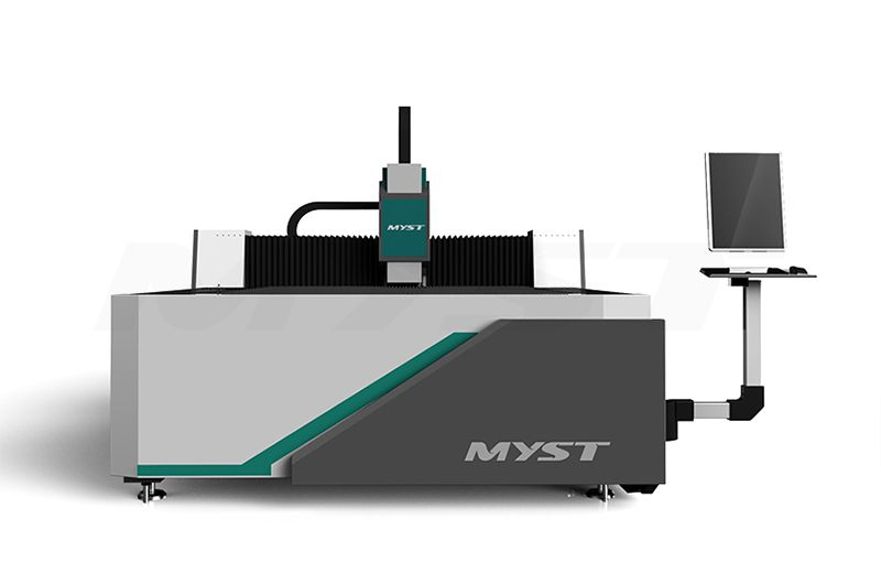More Efficient Fiber Laser Metal Cutting Machine MTF3015J  laser cutting machine for sale