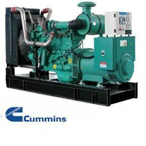 Diesel generator set, Cummins engine + Stamford Alternator