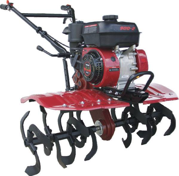 SJ900 Gasoline Tiller with 168FB engines with high quality