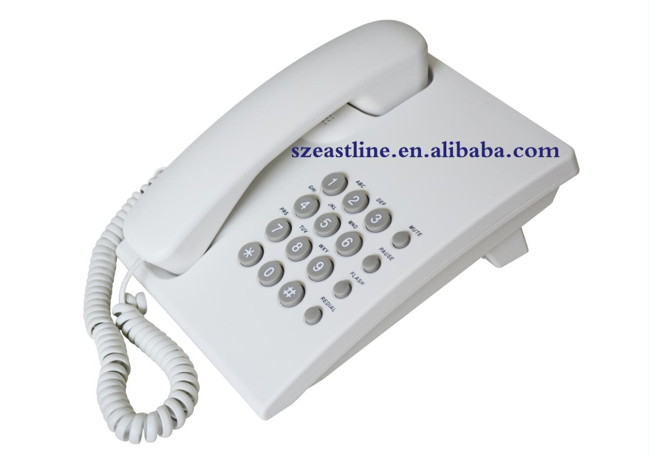 Most Cheap Basic Corded Telephone (KX-TS5500) Wall Mountable Redial OEM