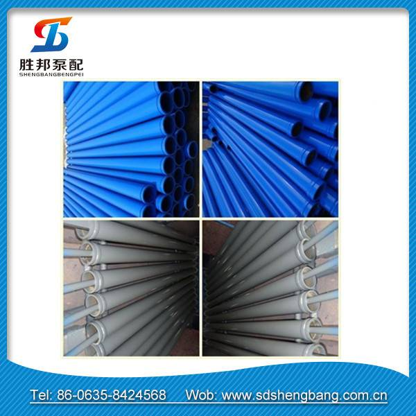 Schwing MF pipe DN125 thickness 4.5 to 8mm 3m concrete pump pipe